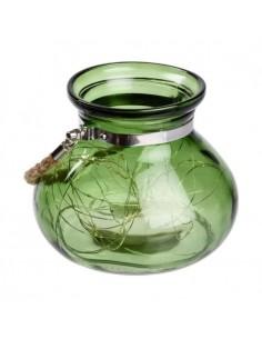 Vase en verre Vert jade  40...