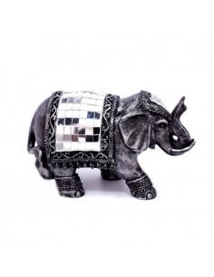 Eléphant avec mosaique  11...
