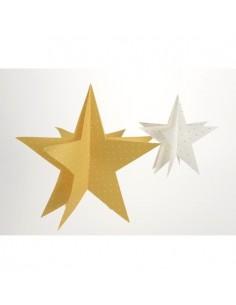 Lot de 2 étoiles a suspendre